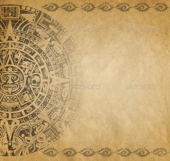 GraphicRiver Mayan Calendar 3967411