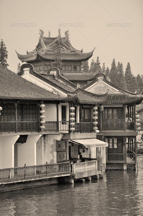PhotoDune Zhujiajiao Town in Shanghai 3969972