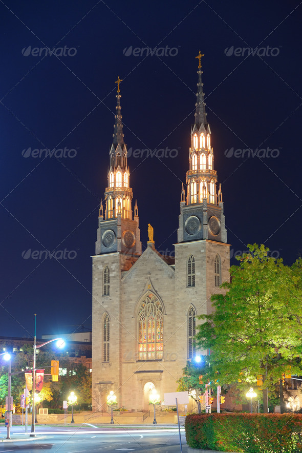 PhotoDune Ottawa Notre Dame Basilica 3969970