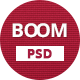 BOOM - Multi-Purpose PSD Theme - ThemeForest Item for Sale