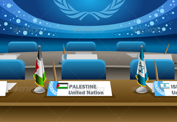 GraphicRiver Palestine Candidate for the Seat on United Nation 3967954