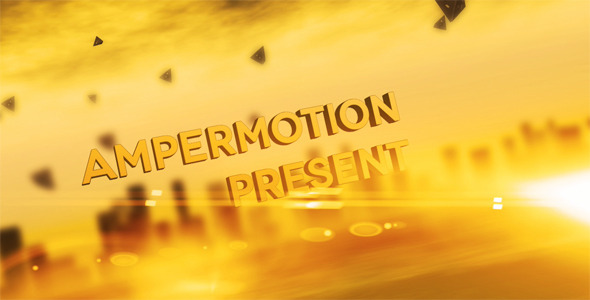After Effects Project - VideoHive Amperium Title 428352