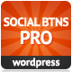 Socia Butonoj Avantaĝo por WordPress - WorldWideScripts.net Item por Vendo
