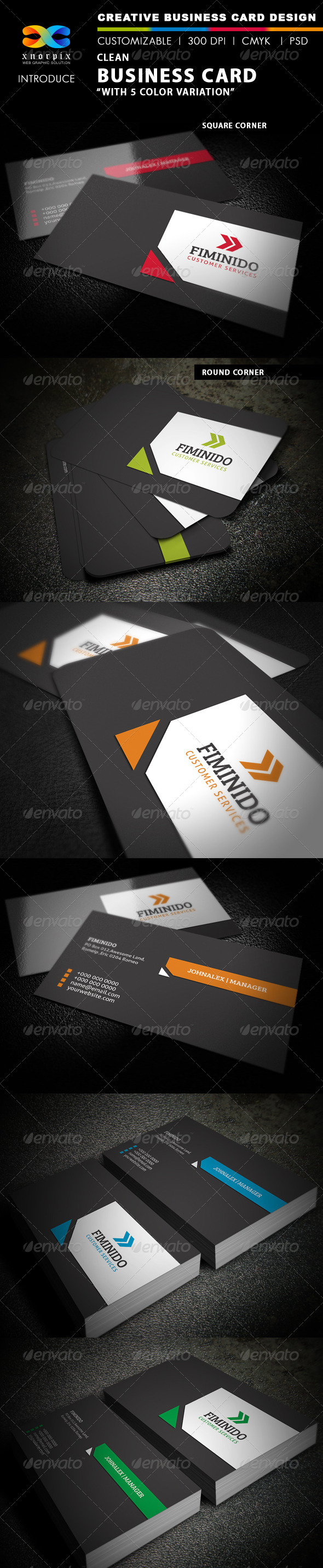 GraphicRiver Clean Business Card 3969531