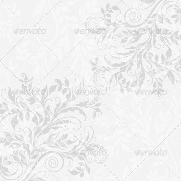 GraphicRiver EPS10 Decorative Floral Background 3969607