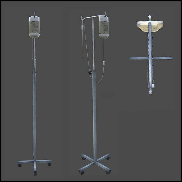 Medical Infusion - 3DOcean Item for Sale