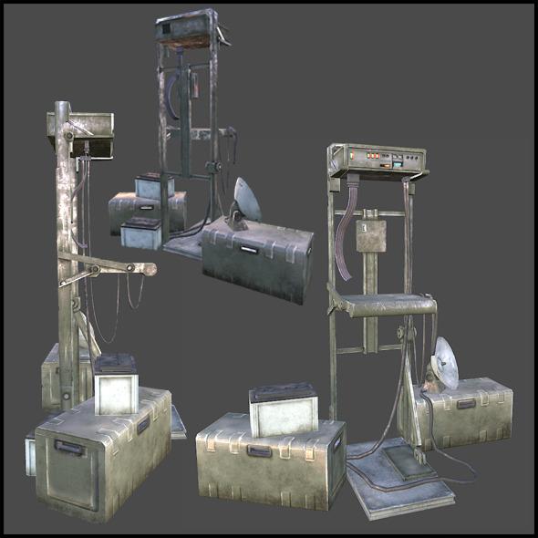 3DOcean Communication Station Base 3969908