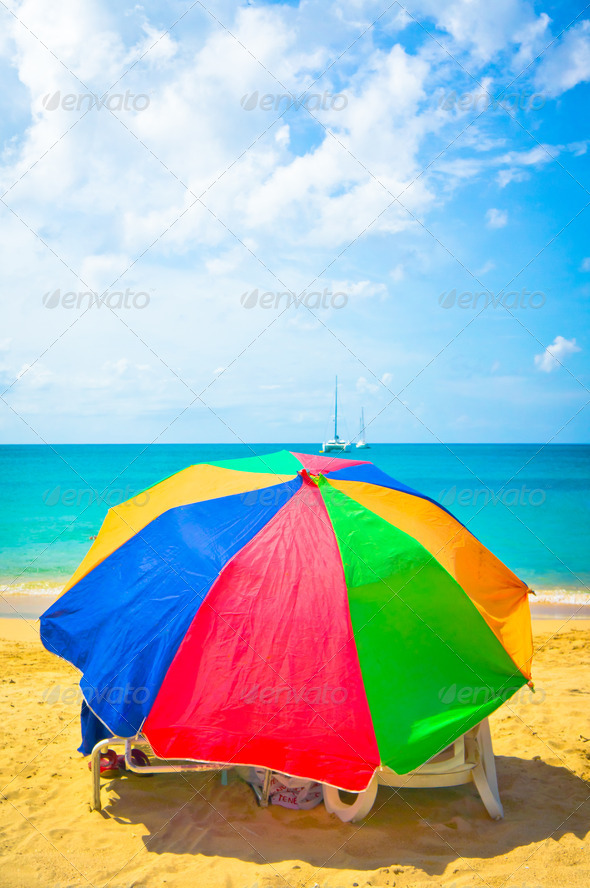 PhotoDune Beautiful beach in Saint Lucia Caribbean Islands 3969956