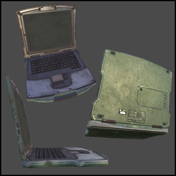 Communication Station Computer - 3DOcean Item for Sale
