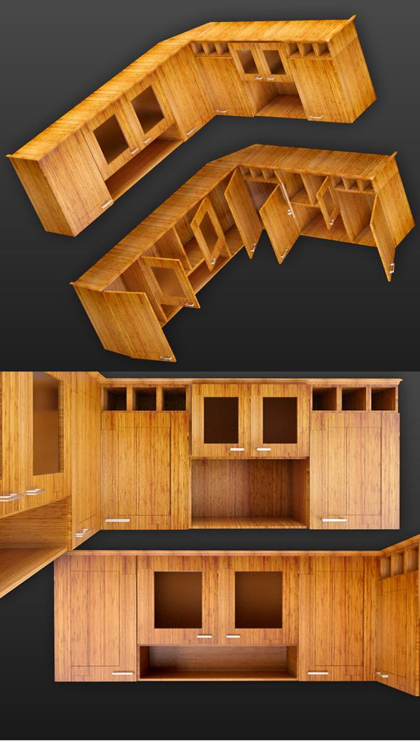 3DOcean Cupboard of Corner 3970138