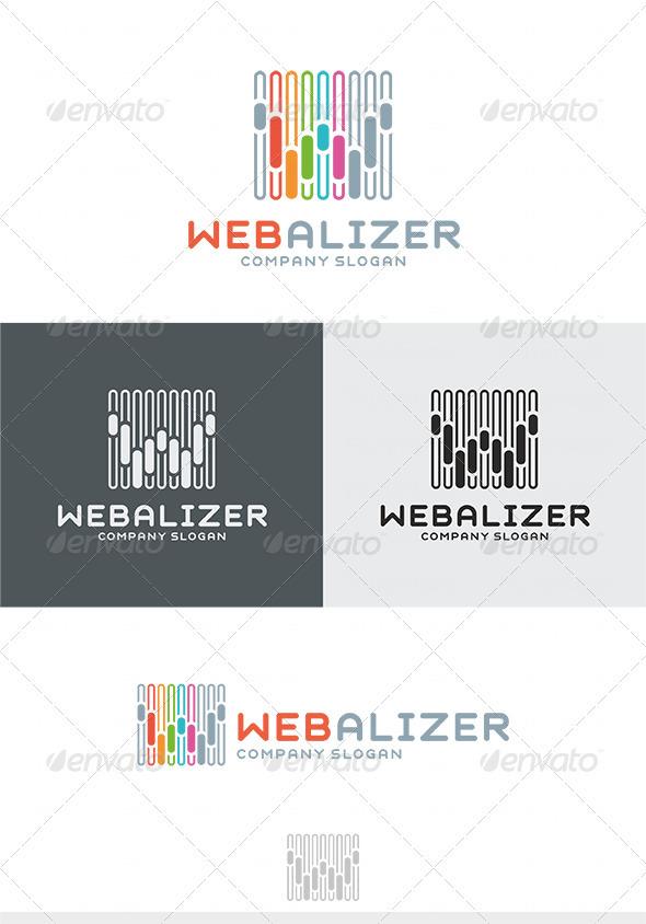 GraphicRiver Webalizer Logo 3970639