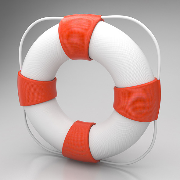 Lifebuoy - 3DOcean Item for Sale