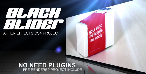 After Effects Project - VideoHive Black Slider 428519