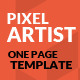 PixelArtist - ThemeForest Item for Sale