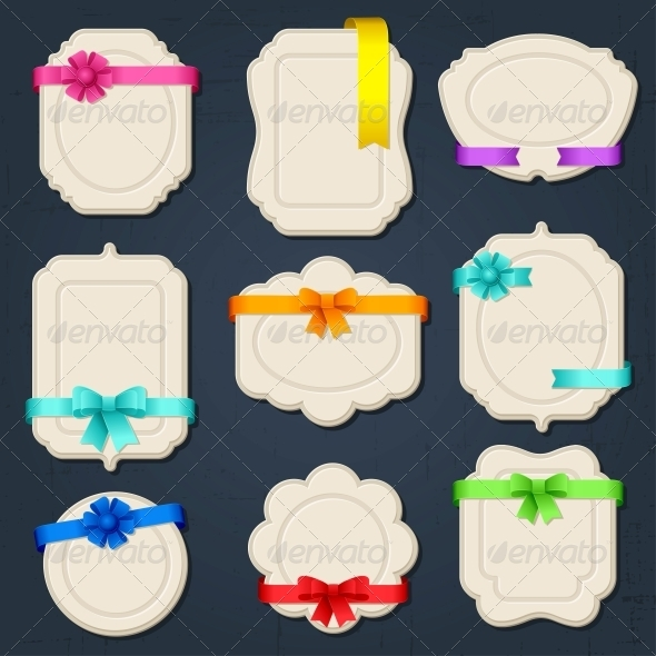 GraphicRiver Collection of badges labels tags 3972162