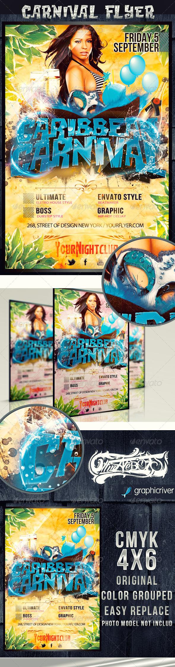GraphicRiver Caribbean Carnival 3972238