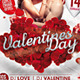 Valentine's Day Flyer Valentines Poster - GraphicRiver Item for Sale