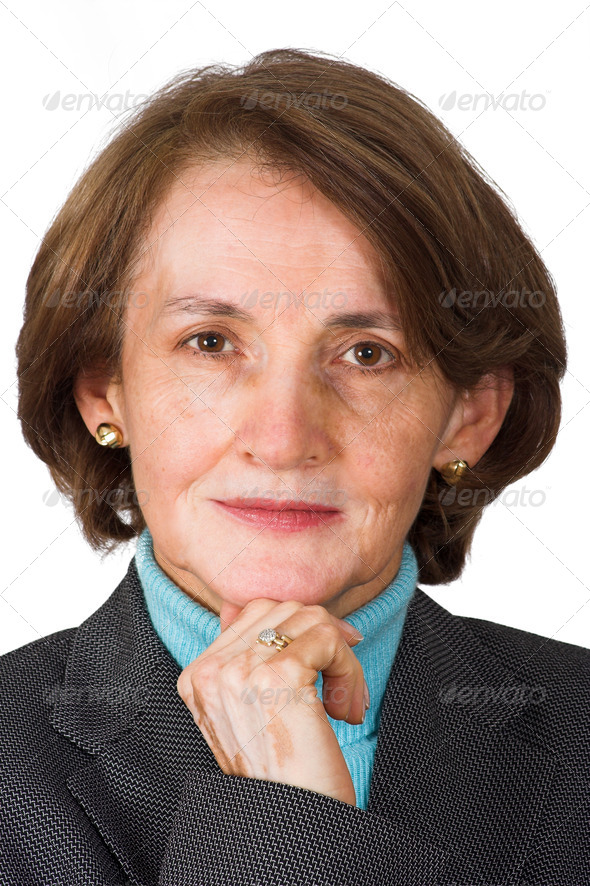 confident business woman portrait - Stock Photo - Images