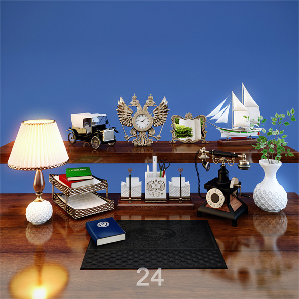 3DOcean Desktop Accessories 3948363