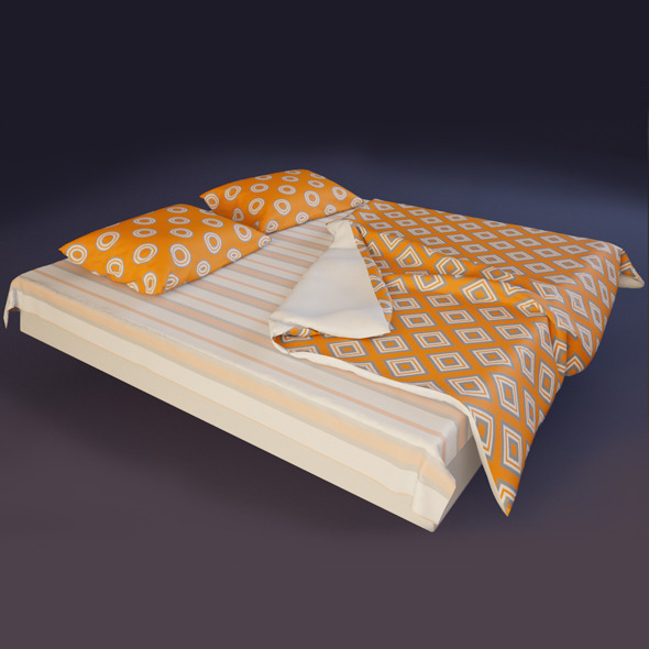 Bedclothes - 3DOcean Item for Sale