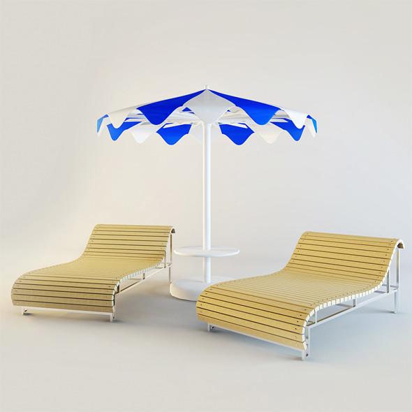 3DOcean Beach Set 3973776