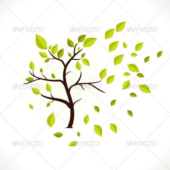 GraphicRiver Tree 3974446