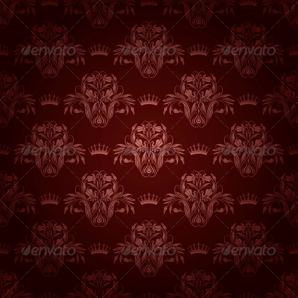 GraphicRiver Damask Seamless Floral Pattern 3975171
