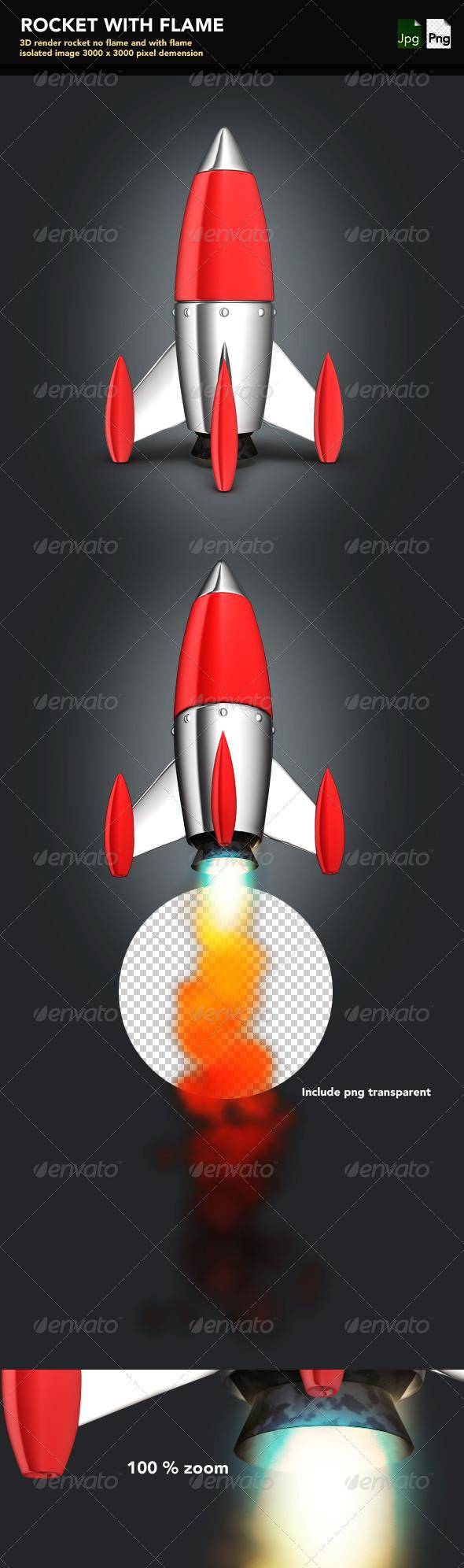 GraphicRiver Rocket 3975596