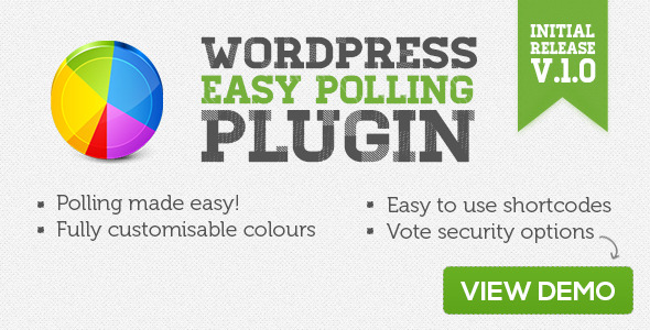 WordPress Easy Polling Plugin - CodeCanyon Item for Sale