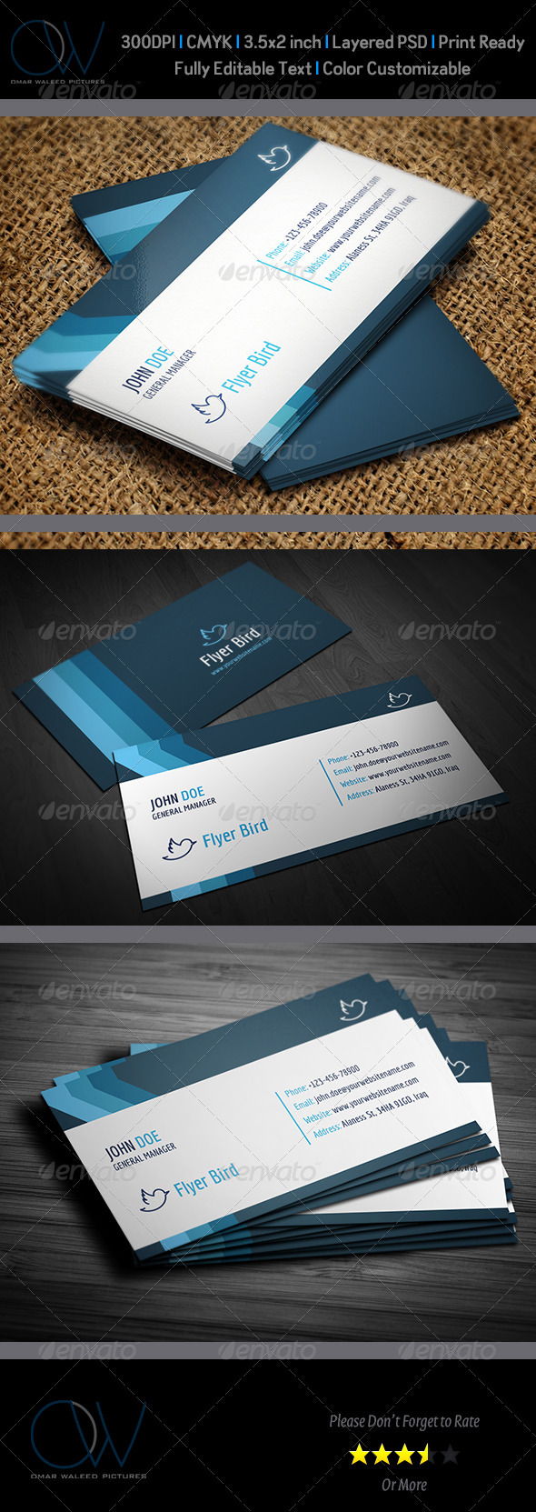 GraphicRiver Corporate Business Card Vol.16 3975611