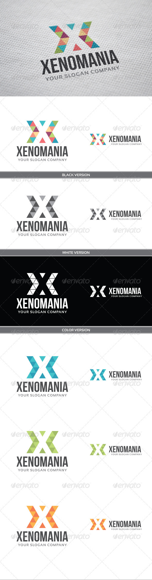 GraphicRiver Xenomania Logo 3975660