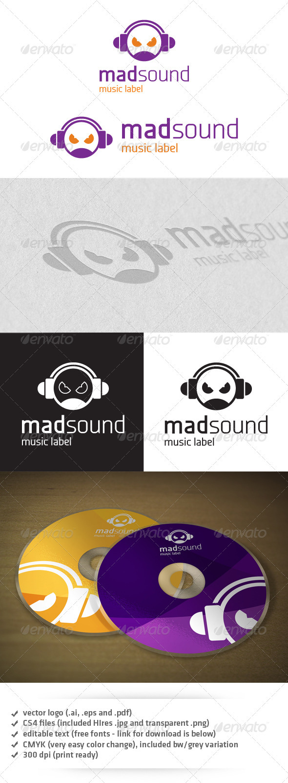 Mad Sound Logo