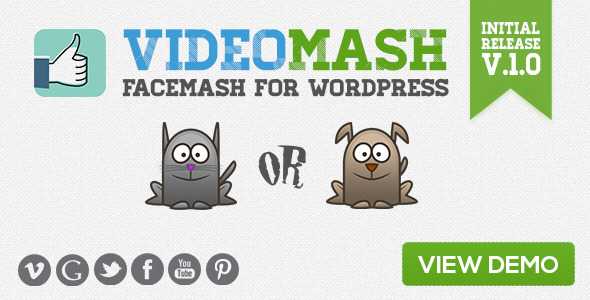 Video Mash Facemash for WordPress