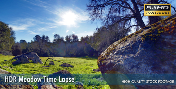 HDR Meadow Time Lapse