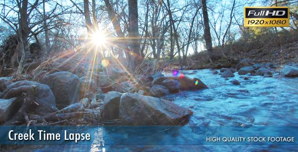 Creek Time Lapse