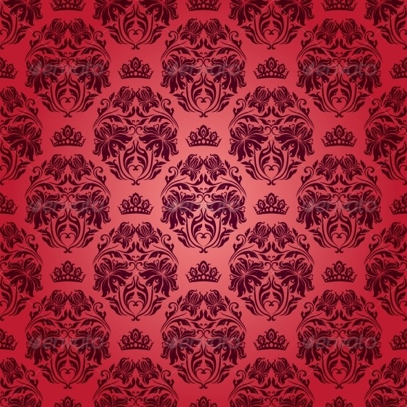 GraphicRiver Damask Seamless Floral Pattern 3975882