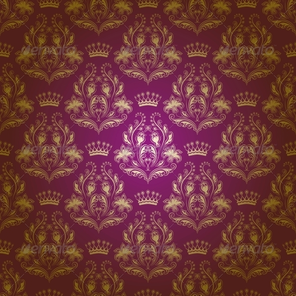 GraphicRiver Damask Seamless Floral Pattern 3975891