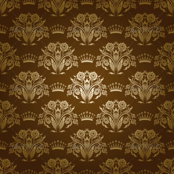GraphicRiver Damask Seamless Floral Pattern 3975913
