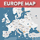 Europe Retina Vector Map - GraphicRiver Item for Sale