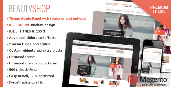 Download BeautyShop – Responsive Magento theme! nulled download