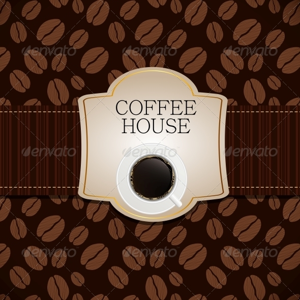 GraphicRiver Coffee House Menu Template Vector Illustration 3976085