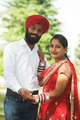 Happy indian young adult married couple