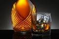 Glass of Scotch and Elegant Decanter - PhotoDune Item for Sale