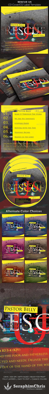 GraphicRiver Rescue US CD Cover Artwork Template 3978727