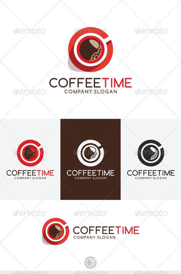 GraphicRiver Coffee Time Logo 3978791