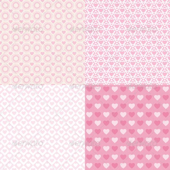 GraphicRiver Pattern Romantic 3978840