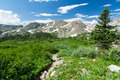 Hiking Trail Through Colorado Mountain Landscape - PhotoDune Item for Sale