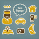 Travel And Vacation Icons Set - GraphicRiver Item for Sale