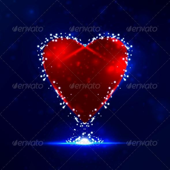 GraphicRiver Futuristic heart 3979989