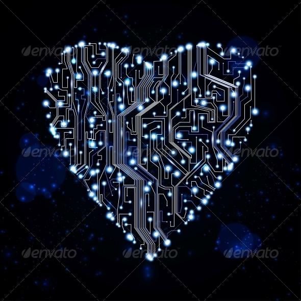 GraphicRiver circuit board vector background 3979996